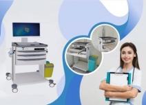 MiMi -Xe đẩy điều dưỡng bệnh án điện tử (XKD-002)